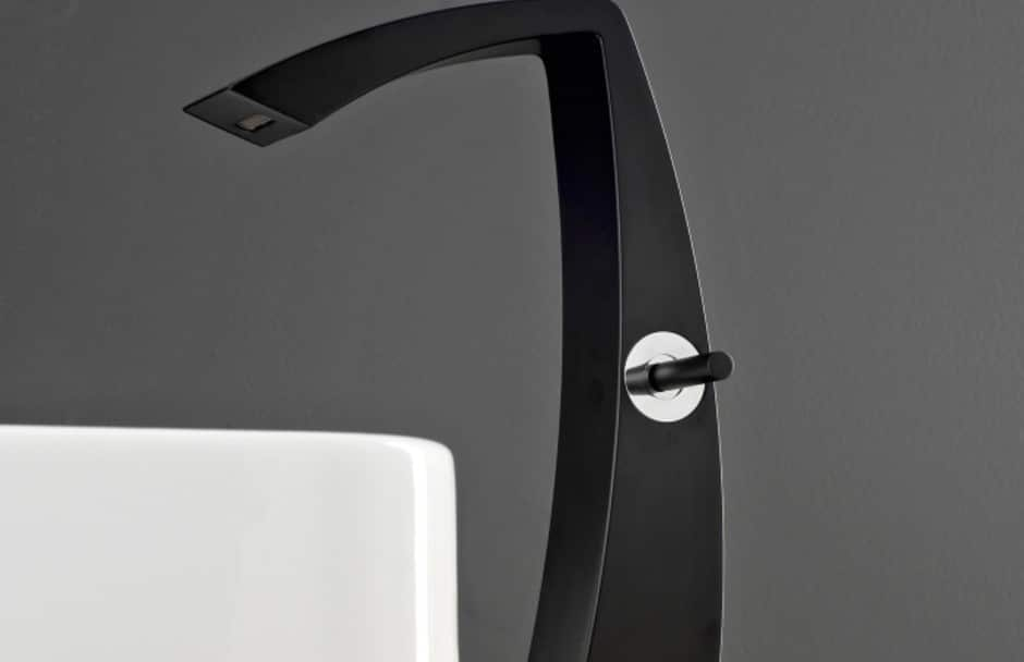 Aquabrass Matte Black Faucet at TAPS Bath Showrooms