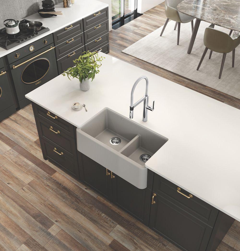 BLANCO IKON Low Divide Silgranit Sink at TAPS bath showrooms