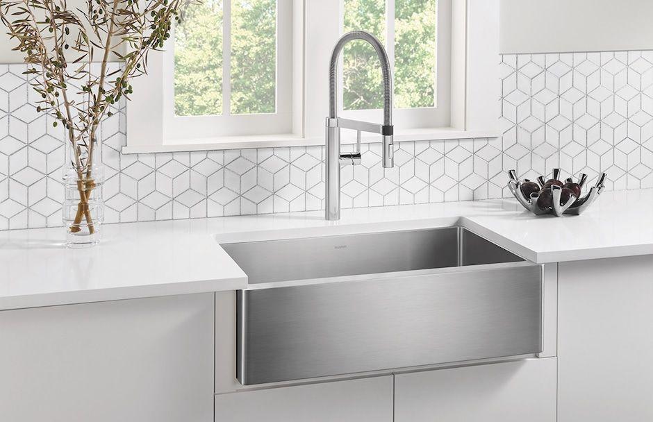 BLANCO Quatrus Single Bowl Sink at TAPS Showrooms