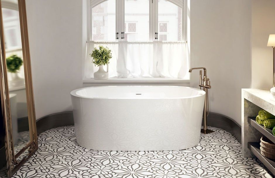 BainUltra Freestanding Bathtub and Filler From TAPS Bath Showrooms