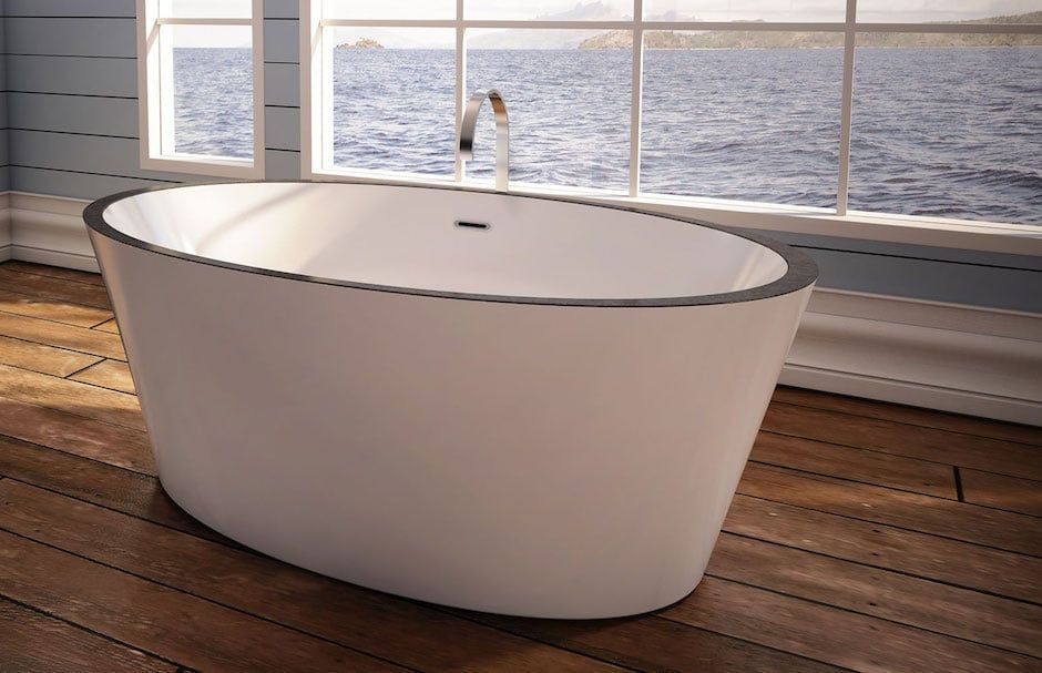 BainUltra Freestanding Oval Tub At TAPS Bath Showrooms