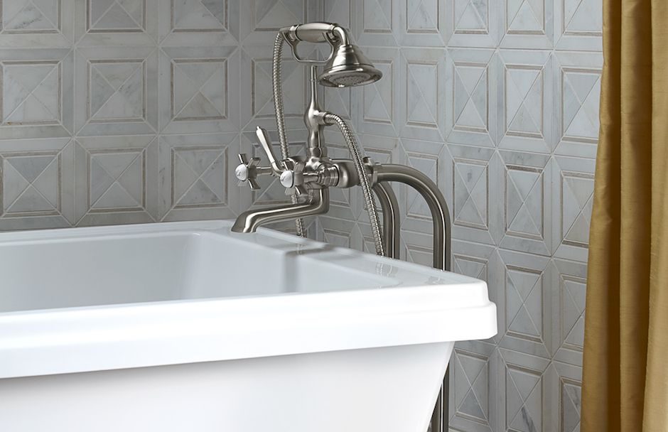 DXV Golden Era Bathroom Fitzgerald Collection