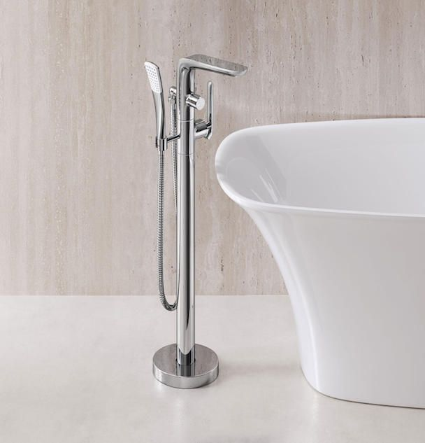 Teslin Freestanding Tub Filler by Frederick York