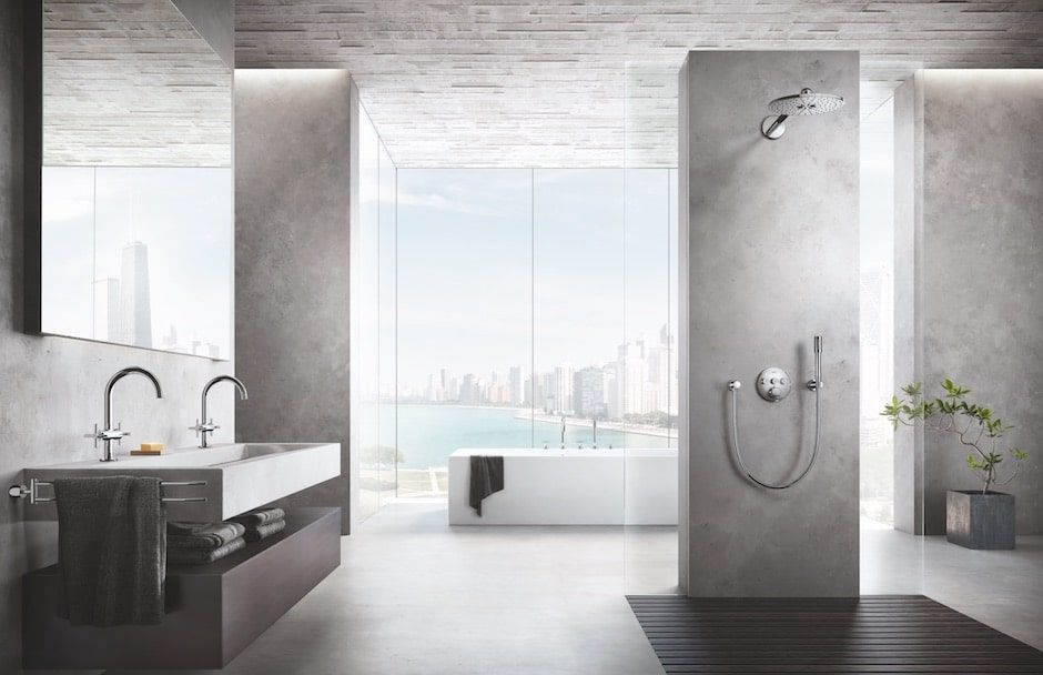 GROHE Atrio Bathroom Collection at TAPS kitchen and bath showrooms