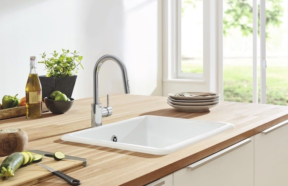 GROHE Concetto Kitchen Faucet at TAPS kitchen and bath showrooms