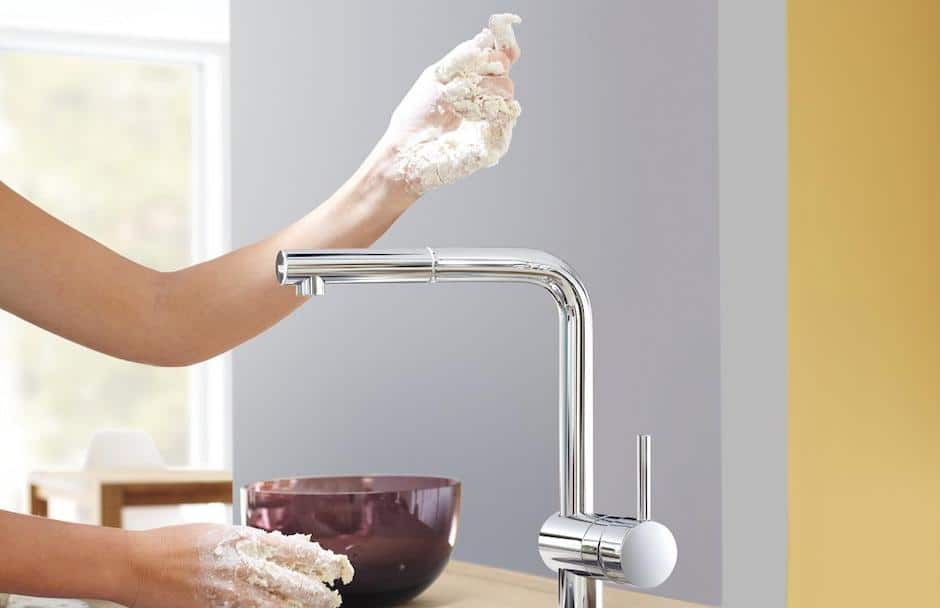 GROHE Minta Touch Faucet at TAPS kitchen and bath showrooms