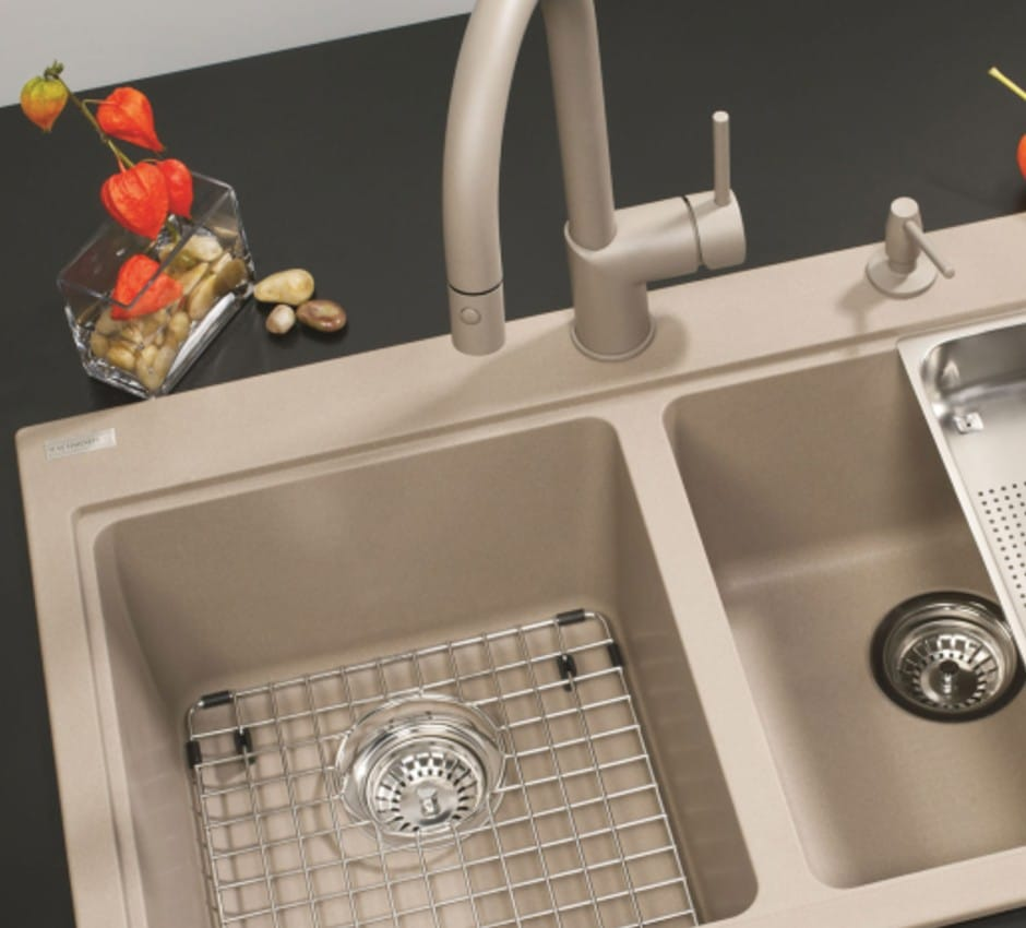 Kindred Double Bowl Sink at TAPS Kitchen and Bath Showrooms