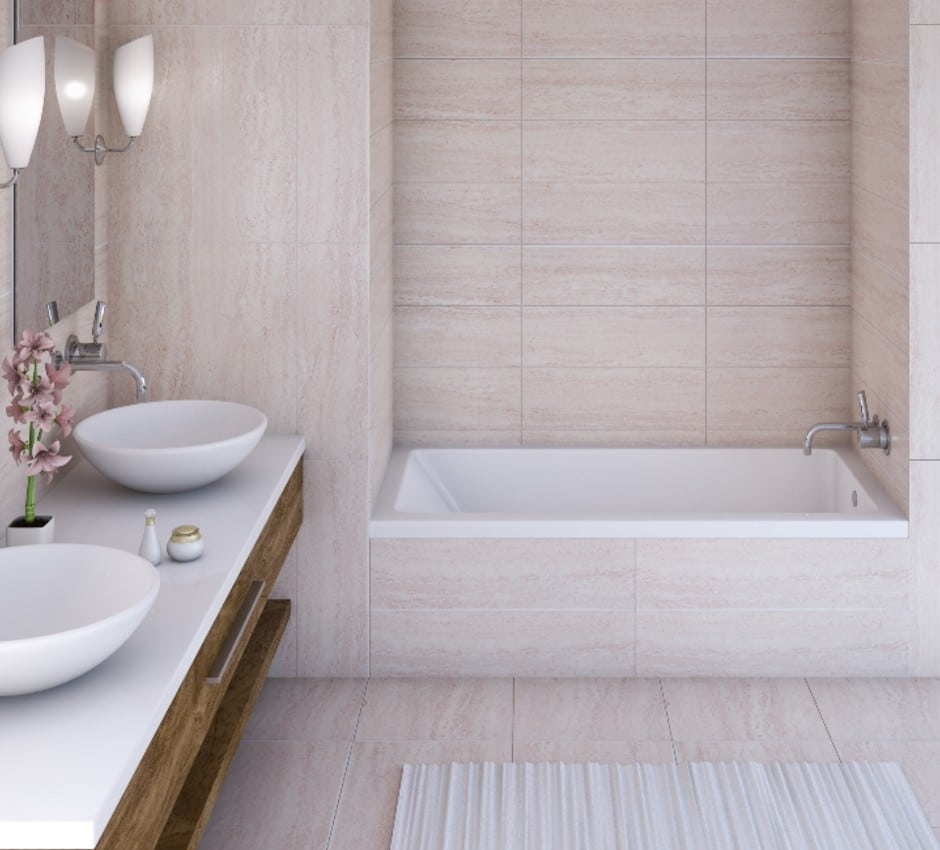 Mirolin Tub Shower Combination at TAPS Bath and Kitchen Showrooms