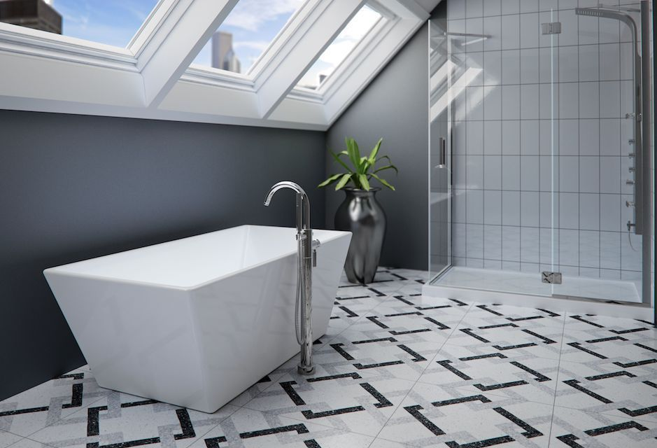 Produits Neptune Prague Bathtub from TAPS Showrooms