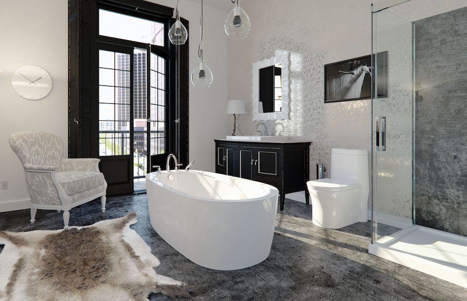 Produits Neptune Bathroom Vapora Bathtub Ensemble from TAPS Showrooms