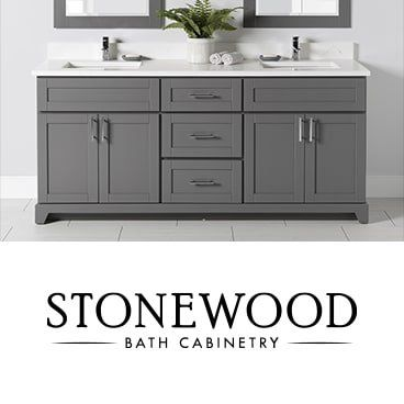 TAPS Stonewood Bath Cabinetry