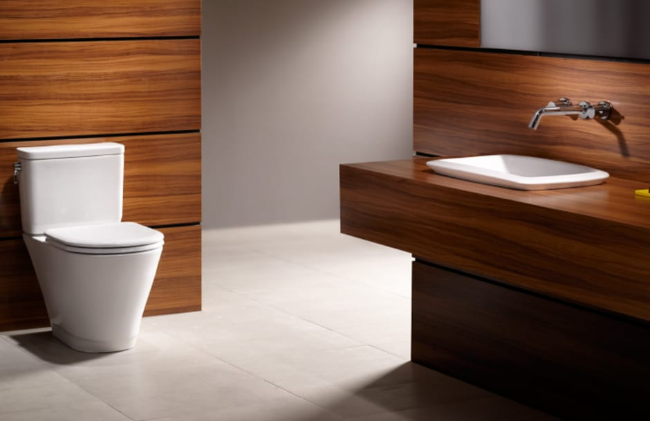 TOTO Toilet and Sink at TAPS Bath and Kitchen Showrooms