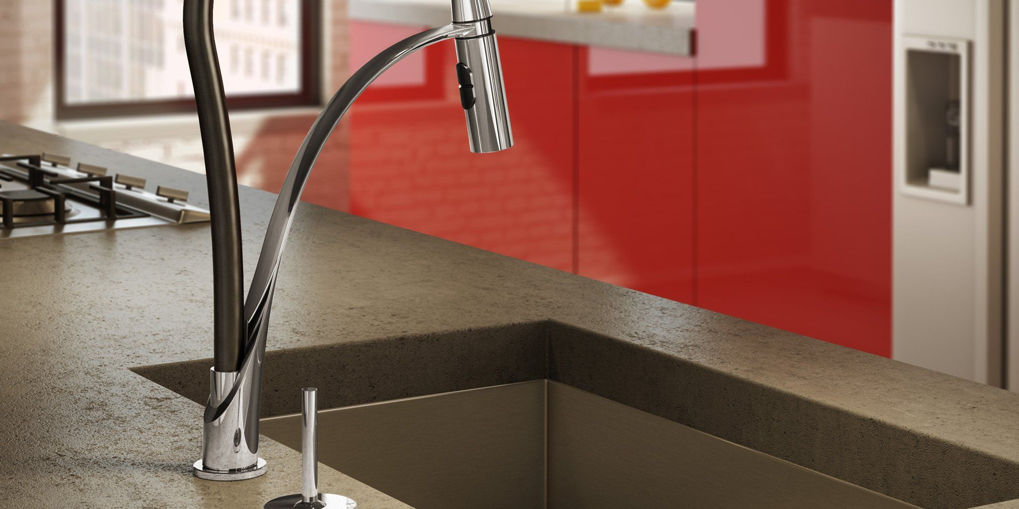 Aquabrass faucet design for kitchen
