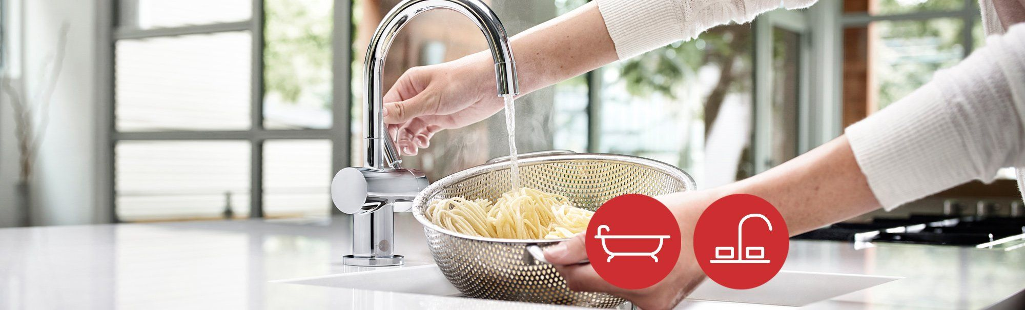 Low flow faucets taps for Eco friendly kitchen faucets