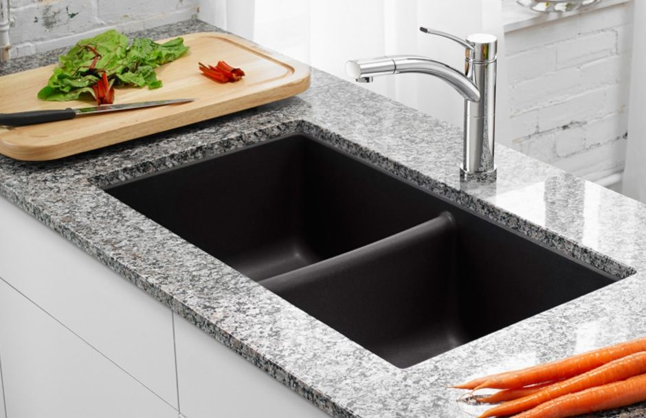 Blanco Kitchen Sink Double Bowl TAPS Kitchen Showrooms