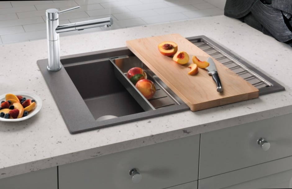 BLANCO Kitchen Sink Prep Space at TAPS Bath and Kitchen showrooms