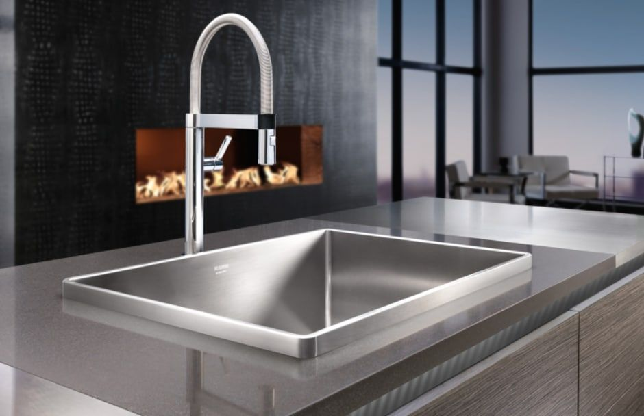 BLANCO kitchen sink single bowl at TAPS Kitchen showrooms