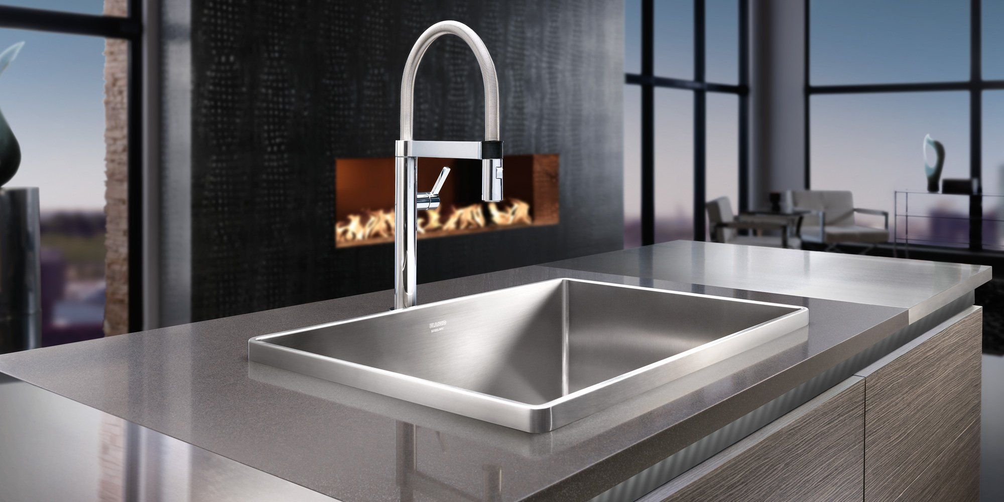 BLANCO Stainless steel kitchen sink