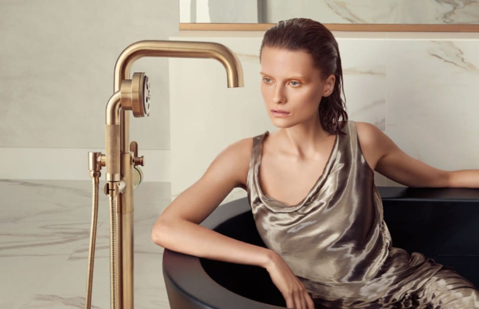 Brizo Freestanding Tub Filler at TAPS Bath and Kitchen Showrooms