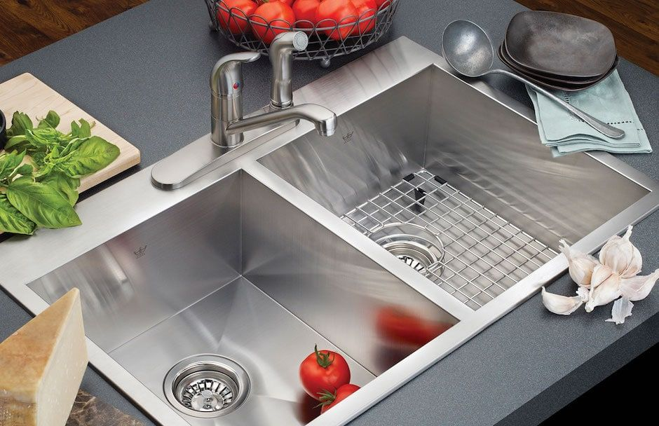 Kindred Kitchen Sink With Double Bowl At TAPS Bath and Kitchen Showrooms