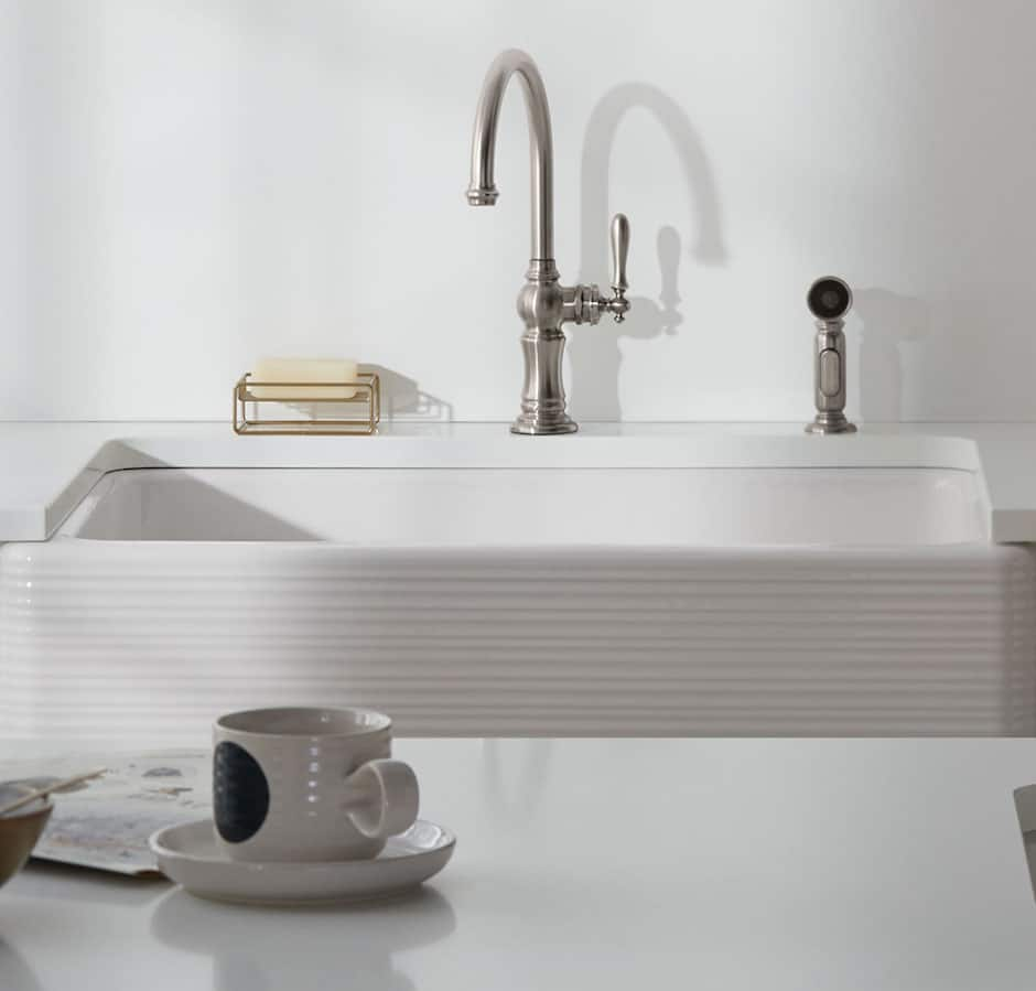 Kohler Kitchen Sink Faucet and Spray At TAPS Bath and Kitchen Showrooms