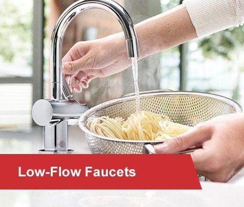 low flow faucets
