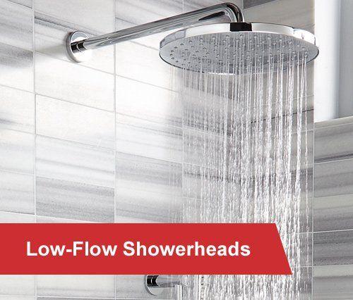 low-flow showerheads
