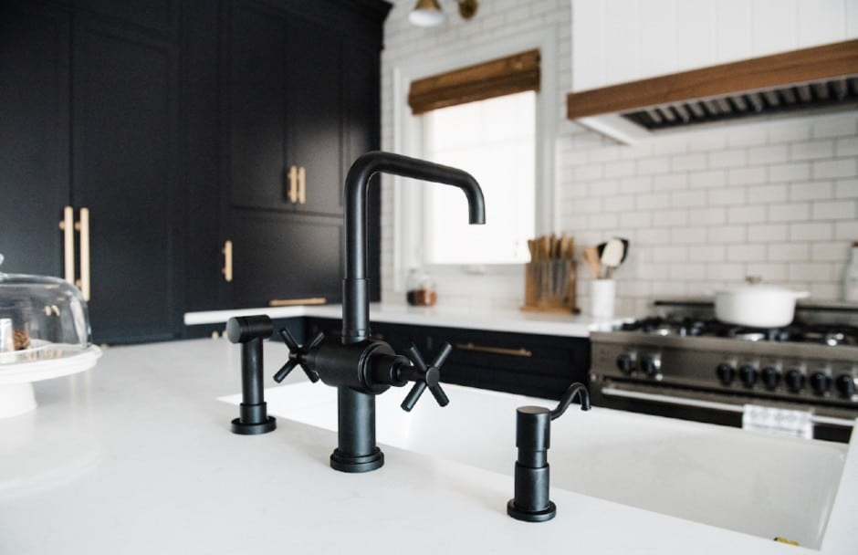 Rubinet Kitchen Faucet at TAPS Kitchen and Bath Showrooms