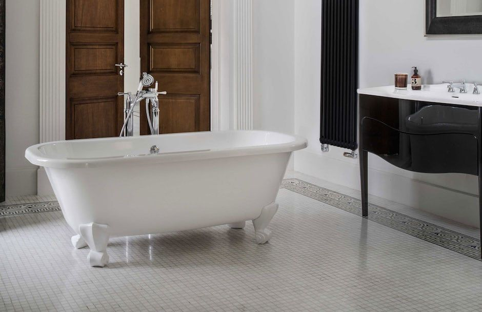 Victoria + Albert Ball Foot Bath Tub At TAPS Bath and Kitchen Showrooms