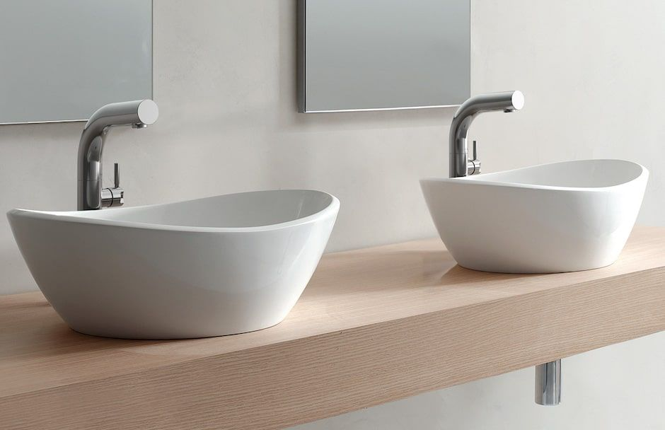 Victoria + Albert Double Sinks At TAPS Bath and Kitchen Showrooms